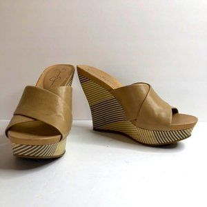 Jessica Simpson Platform Wedge Sandals #8.5